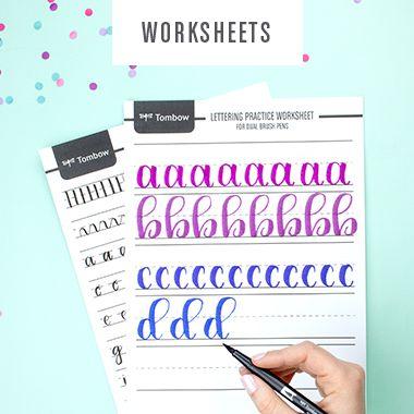 Lettering Worksheets